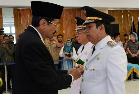 Gubernur Sumut Lantik Wakil Walikota Pematang Siantar