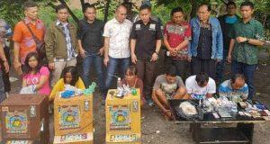 Polrestabes Medan Kembali Gerebek Kampung Narkoba