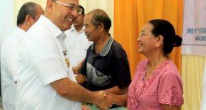 Walikota Serahkan 1.300 Sertifikat Tanah di Belawan
