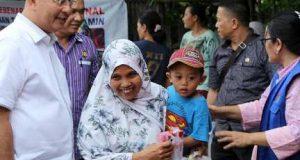 Pemko Medan-YSKI Salurkan Bantuan Sosial
