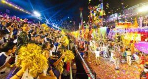 Singapura Gelar Parade Chingay Semarakkan Imlek