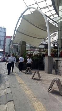 Dishub Larang Parkir Kenderaan di Areal Pedestrian