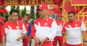 Walikota Medan Serukan Hidup Sehat Melalui Olahraga