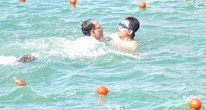 Aksi Heroik Pjs Wali Kota Mataram Selamatkan Bocah Nyaris Tenggelam