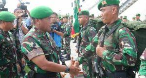 Pangdam I/BB Lepas 450 Prajurit Jaga Perbatasan