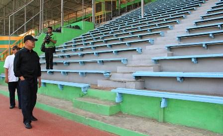 Medan Kebut Penyelesaian Renovasi Stadion Teladan