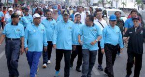 Gubernur Sumut Jalan Santai Peringati HPN 2018