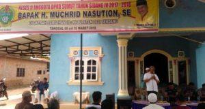 Anggota DPRD Sumut Dukung Peningkatan Kesejahteraan Warga Namorambe