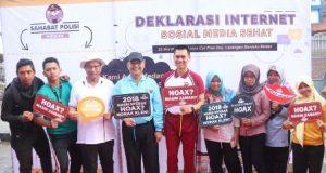 Medan Deklarasikan Internet Sosial Media Sehat
