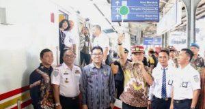 Walikota Medan Resmikan Operasional KA Premium Sribilah