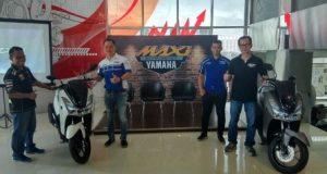 Ratusan Riders MAXI Meriahkan Launching Yamaha Lexi