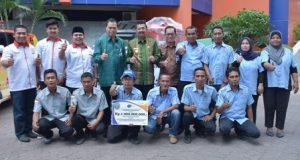 Gubernur Serahkan Dana CSR Bank Sumut