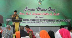 Wakil Walikota Medan Jamu Makan Siang Pengurus AMPHURI