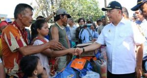 Walikota Kunjungi Korban Kebakaran Bagan Deli