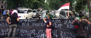 Pedagang Pasar Pringgan Demo Minta Pemko Medan Tegas
