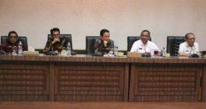 Bupati Batang Hari Kunker ke Pemko Medan