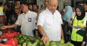 Walikota Medan Sidak Pasar Pantau Harga Sembako