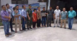 Aquafarm Bangun Lapangan Futsal dan  Perbaikan Jalan Ajibata