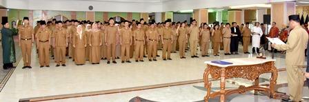227 Pejabat Pemprov Sumut Dilantik