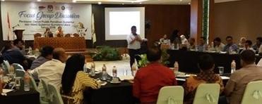 KPU Sumut Gelar Diskusi untuk Debat Kandidat Cagub