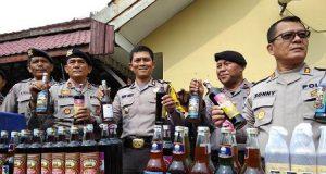 Polrestabes Medan Gencarkan Razia Pekat Jelang Ramadan