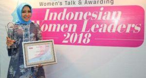 Rita Maharani Terima Penghargaan Indonesia Women Leaders 2018