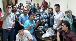 Jalin Kekompakan, Wartawan Unit DPRD Medan Buka Puasa Bersama