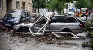 25 Luka, Ledakan Gedung Bertingkat di Jerman