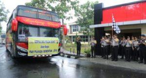 Polda Sumut Lakukan Pergeseran Personel Pengamanan Pilkada 2018