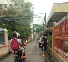 Rumah Korban KM Sinar Bangun Mulai Dipasang Tenda