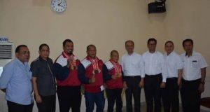 Tirtanadi Apresiasi 3 Atlet Angkat Berat Berprestasi