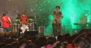 Setia Band Meriahkan Panggung Hiburan HUT Kota Medan