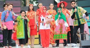 """Ragam Batik Medan Tampil di """"Inbox Carnaval"""""""