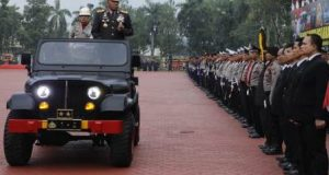 Kapolda Sumut Pimpin Upacara HUT ke-72 Bhayangkara