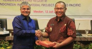 Wakil Walikota Medan Terima Kunjungan Dubes India