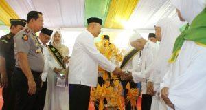 Walikota Medan Lepas 2.407 Calon Haji 2018